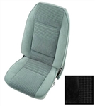 1979 - 1980 Front Bucket Seat Covers, Deluxe Custom Cloth