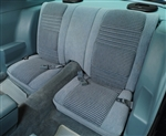 1979 - 1980 Rear Seat Covers, Deluxe Custom Cloth