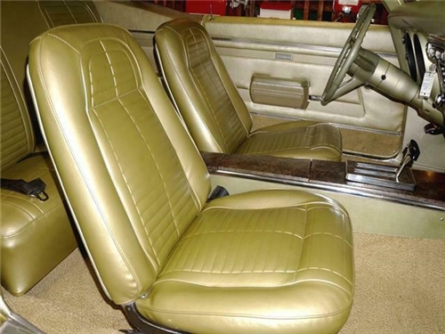 1968 Firebird Standard Interior Kit W Pre Assembled Door