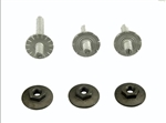 1967 - 1969 Firebird Quarter Window Track Adjustment Screw Stud Set
