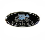 "1967 - 1981 Door Jamb Sill Plate Decal, "" Body by Fisher """