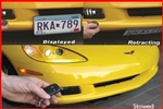 Show 'N' Go Powered Electric License Plate Transport, Universal for All Makes and Models