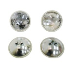 1968-1969 Firebird T3 Headlight Lamp Bulbs Set