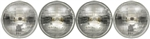 1967 - 1969 Firebird Headlight Headlamp Halogen Complete Bulb Set