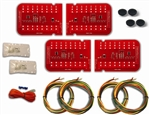 1967 - 1968 Firebird Digital LED Tail Light Kit Pair