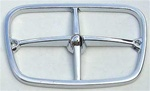 1969 - 1973 Parking Light Bezel Chrome Trim, Each