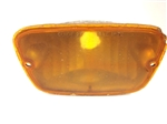 1972 - 1973 Parking Light Lens and Housing, Amber