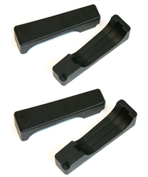 1970 - 1981 Firebird / Trans Am Upper & Lower Radiator Retainer Rubber Mounting Pad Set ( O.E. STYLE )