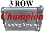 "1967 - 1969 Aluminum 23"" Radiator 3 Row"