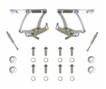 1967-1969 Billet Aluminum Hood Hinges (Polished)