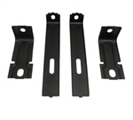 1977 - 1978 Radiator Core Support Bracket and Brace 4 Piece Set