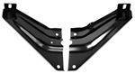 1969 Firebird and Trans Am Radiator Core Support To Fender Side Support Brace Gussets