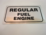 "1970 Valve Cover "" Regular Fuel "" Decal"