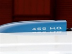 "1971-1972 Trans Am Hood Scoop Decal ""455 H.O."""