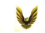 "1979 - 1980 Trans Am Quarter Sail Panel "" Bird "" Decal - 3 Inch"