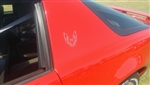 "1982 - 1992 Trans Am, Firebird, Formula Bird Decal 3"" Bumper or Sail Panel - Each"