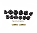 1967-1969 Polyurethane Rear Leaf Spring Bushings Kit