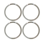 1970 - 1976 15 Inch Honeycomb Wheel Trim Rings, Set of 4