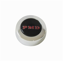 1967-1972 Firebird Ralley Wheel PMD Center Cap, Black Each
