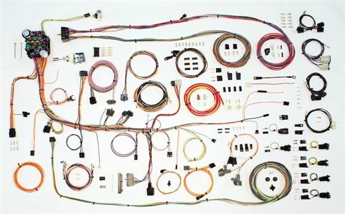 1969 firebird classic update complete wiring harness kit rh firebirdcentral com  1969 pontiac firebird wiring harness