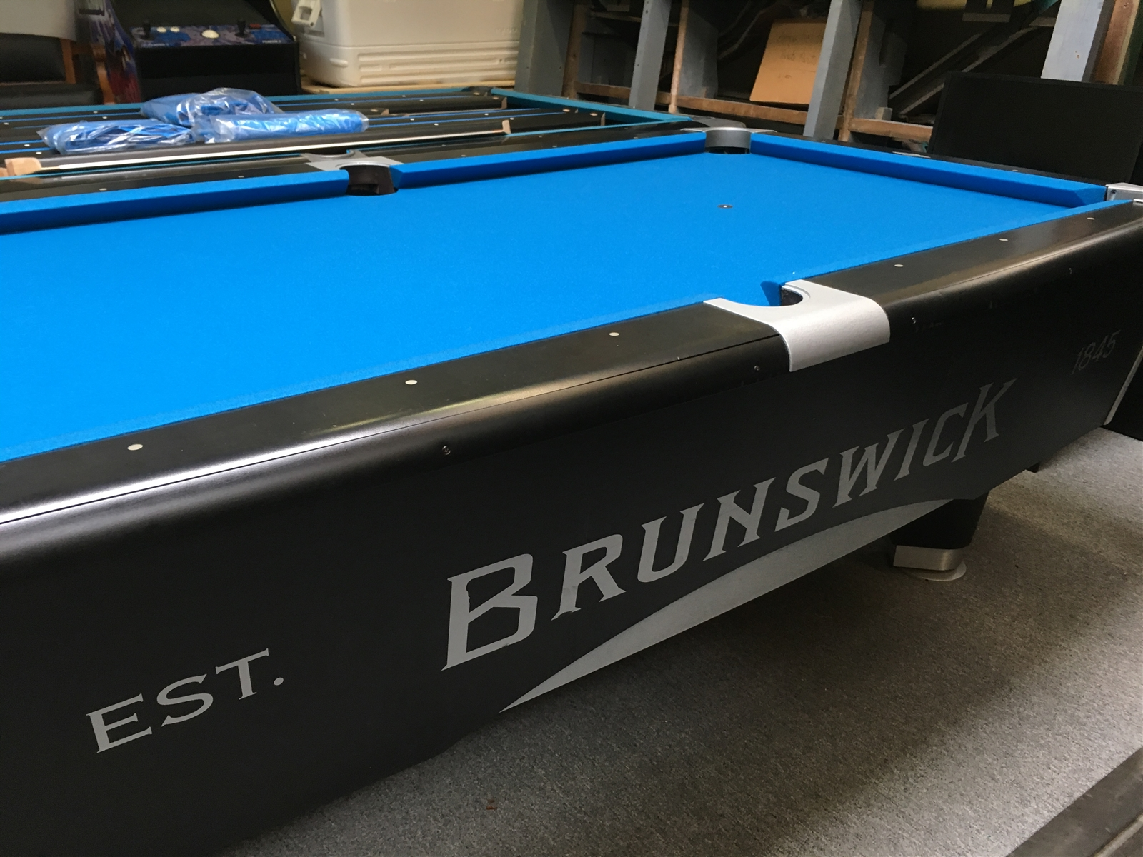 Brunswick 7 Foot Metro Tournament Pool Table   Pool Tables Plus
