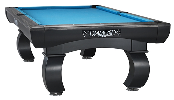 diamond black slate billiard pool foot table tables