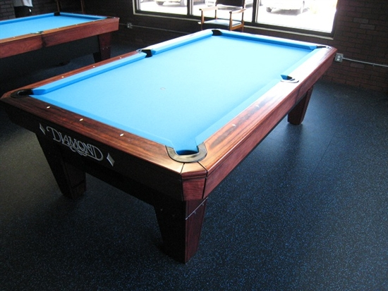 DIAMOND ProAm Foot Pool Table - 9ft diamond pool table