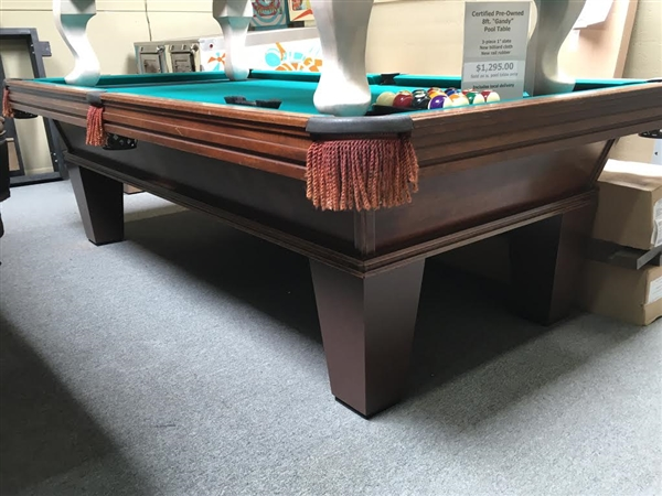 Gandy Foot Pool Table Pool Tables Plus - Gandy pool table