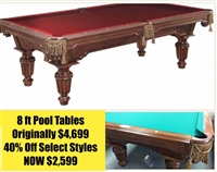Legacy Westcott Pool Table Cyber Sale