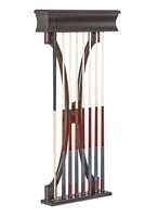 Brunswick Lexington Pool Cue Wall Rack