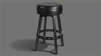 Renegade Backless Stool by Legacy