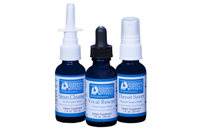 Superior Vocal Health 3-Pack