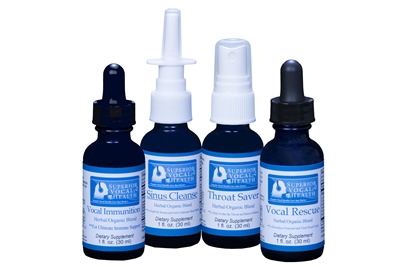 Superior Vocal Health 4-Pack (Single Shipment)