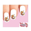 Japanese Tattoo Koi with Cherry Blossoms Waterslide Nail Decals