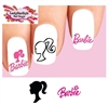 Barbie Assorted Waterslide Nail Decals