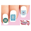 USCG United States US Coast Guard Mom Assorted Waterslide Nail Decals