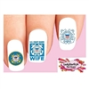 USCG United States US Coast Guard Wife Assorted Waterslide Nail Decals