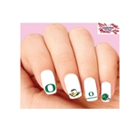 Oregon Ducks Assorted Waterslide Nail Decals Assorted Waterslide Nail Decals