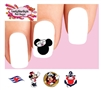 Disney Cruise Vacation Minnie & Mickey Assorted Waterslide Nail Decals