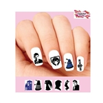 Doctor Who Assorted Waterslide Nail Decals
