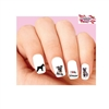Schnauzer Assorted Waterslide Nail Decals