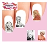 Dolly Parton Assorted #1 Waterslide Nail Decals