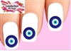 Evil Eye Waterslide Nail Decals