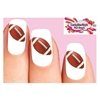 Football Waterslide Nail Decals