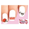 Cleveland Browns Football Assorted Waterslide Nail Decals