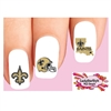 New Orleans Saints Football Assorted Waterslide Nail Decals