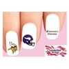 Minnesota Vikings Football Assorted Waterslide Nail Decals