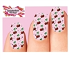 Cherries Cherry Full Waterslide Nail Decals