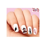 Halloween Freddy Krueger Nightmare Elm Street Assorted Waterslide Nail Decals