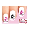 USMC United States US Marine Leatherneck Wife Assorted Waterslide Nail Decals